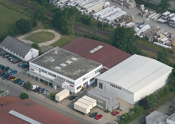 Jamara's headquarters in Aichstetten, Germany.