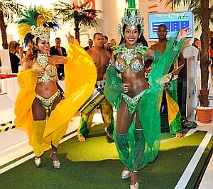 Samba Musik, Stand: Intersnack  Halle 10.2