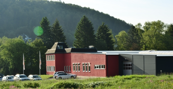 The German Regine headquarters in Albstadt.
