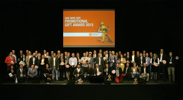 47 of the 52 international winners attended the award ceremony of the Promotional Gift Award.