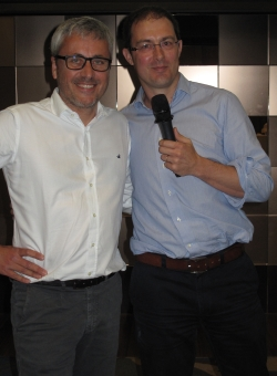The outgoing and the new Ippag President: Søren Langhoff (l) and Thibaut Fontaine.