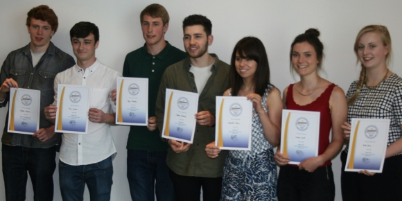 The winners of the BPMA Student Design Awards 2015.