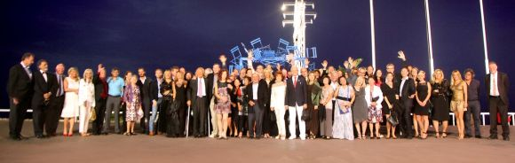 Ippag group photo commemorating the 50th anniversary of the international association.