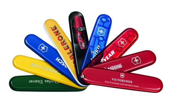 Almost all top brands in Switzerland and three quarters of the leading brands worldwide have already implemented a Victorinox pocketknife as a promotional product before.