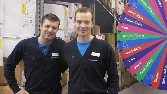 Gilles Brunin (l) and Jacob Bertelsen.