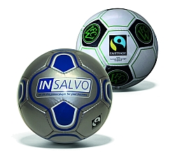 Paol Austria offers small volumes of individualised Fairtrade footballs.