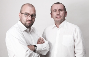 Szczepan Siatecki (l) and Krzysztof Żejmo.