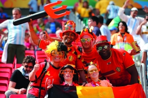 Red Devils: The Belgian national team is considered to be the insider tip for the European Championships.