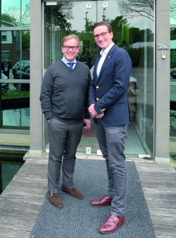 CEO Michel Van Bavel (l) and COO Paul Keser.