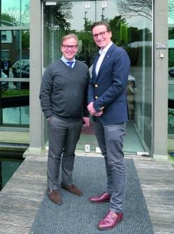 CEO Michel Van Bavel (l) and COO Paul Keser.