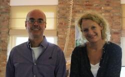 Lieke Jans-Stroomer and Roel Jans from Goodwill Handelsonderneming.