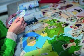"The loyalty campaign ""My Animal Park"" for the supermarket chain, Delhaize, comprised of cards with the motifs of different animals, a board game and hidden digital content such as animal noises"