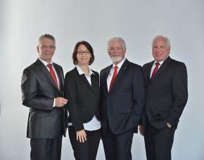 F.t.l.: Joachim Würz, Stefanie Wieckenberg, Olaf Pohl and Richard Kammerer.