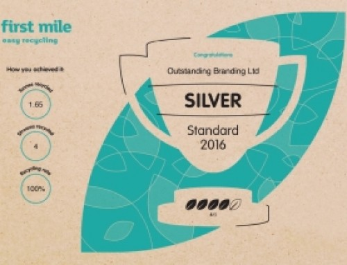 Outstanding Branding: Silver Rating in recycling