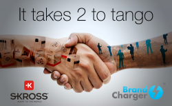 Cooperation between BrandCharger® and Skross®