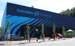Schneider expands its capacities