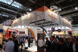 IMG 1256 - A+A 2017 also attracts promotional textile companies