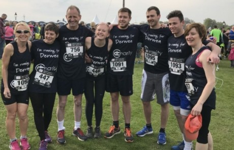 Welsh agency runs for charity