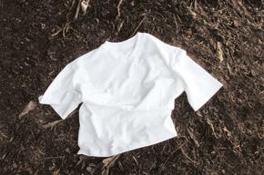 "06FS kompost shirt 02 Trigema - ""Waste is nourishment"""