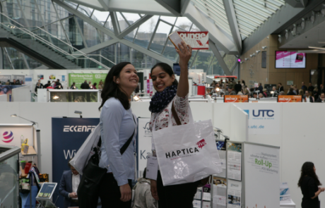 HAPTICA® live '18: Product ideas from all over the world