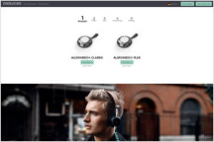 Website tc vorschau - Tradeconthor: New online configurator