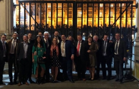 Briman Group guests at the House of Commons