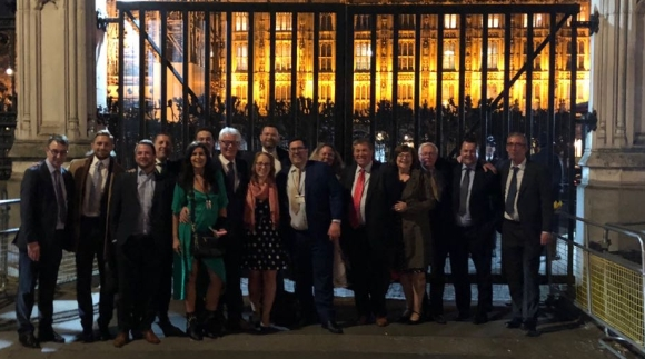 briman group - Briman Group guests at the House of Commons