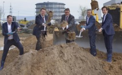cyber-Wear: Ground-breaking ceremony