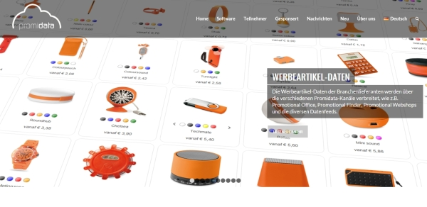 promidata - Promidata has a new website