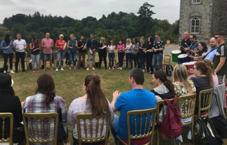 Goldstar: Team building at Slane Castle