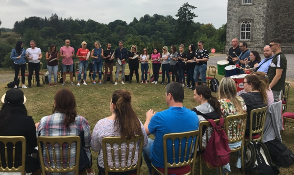 goldstar teambuilding - Goldstar: Team building at Slane Castle