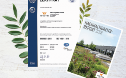 Halfar: New ISO certification