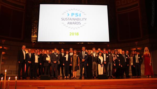 psi saav - PSI Sustainability Awards 2018: Festive award ceremony