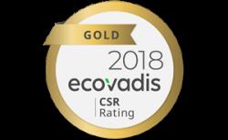 Xindao: Gold at EcoVadis