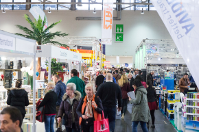 iaw messe 2018 1a - 28th IAW: Good previous year level maintained