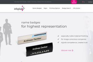 infoplus Sreenshot - Infoplus has a new webshop