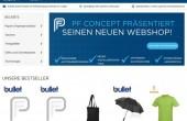 PF Concept: New webshop