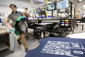 Spreadshirt Production CZ I - Spreadshirt: Nine million Euros for a new printer