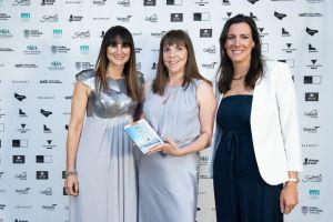 outstanding branding - Sarah Penn wins Women in Business Award