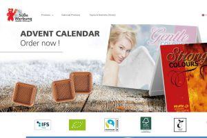 kalfany screenshot v - Kalfany Süße Werbung: New online presence